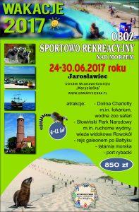 Obóz letni_Jarosławiec 24-30.06.2017r.